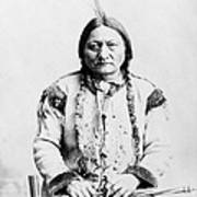 Sitting Bull Print by War Is Hell Store