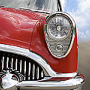 Sitting Pretty - Buick Print by Mike McGlothlen
