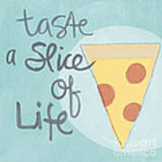 Slice Of Life Print by Linda Woods
