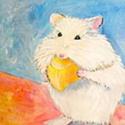 Snack Time Print by Debi Starr