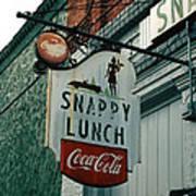 Snappy's Print by Steve Godleski