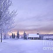 Snow Day Print by Kristal Kraft