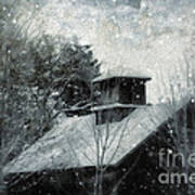 Snowy Night Print by HD Connelly