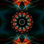 Spiritual Magic Print by Hanza Turgul