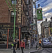 Spring And Mulberry - Street Scene - Nyc Print by Madeline Ellis