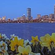 Spring Into Boston Print by Juergen Roth