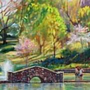 Spring Morning Print by Bonnie Mason