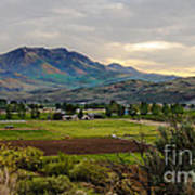 Spring Time In The Valley Print by Robert Bales