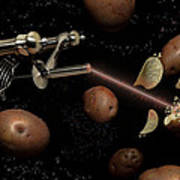 Spuds The Final Frontier Print by Randy Turnbow