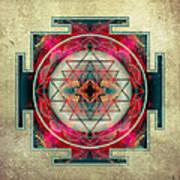 Sri Yantra  Print by Filippo B