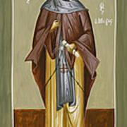 St Anthony Print by Julia Bridget Hayes