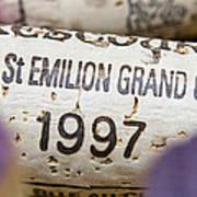 St Emilion Grand Cru Print by Frank Tschakert