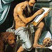 St. Jerome Print by Willem Key
