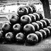 St. Joseph Michigan Cannon Balls Picture Print by Paul Velgos