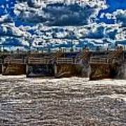 St Lucie Lock And Dam 3 Print by Dan Dennison