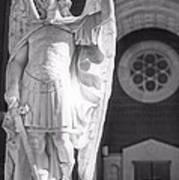 St. Michael The Archangel Print by Brian Druggan
