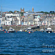 St Peters Port Guernsey  Print by Phyllis Kaltenbach