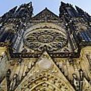 St Vitus Church In Hradcany Prague Print by Jelena Jovanovic