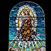 Stained Glass Pc 02 Print by Thomas Woolworth