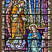 Stained Glass Print by Susan Candelario