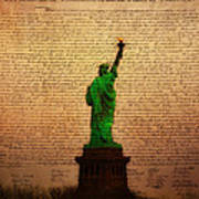 Stand Up For Freedom Print by Bill Cannon