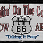 Standin' On A Corner In Winslow Arizona Print by Christine Till