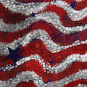 Starry Stripes Print by Carol Jacobs