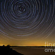 Startrails 3 Print by Benjamin Reed