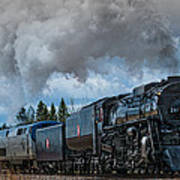 Steam Engine 261 Print by Paul Freidlund