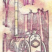 Steam Legacy Print by Patricia Howitt