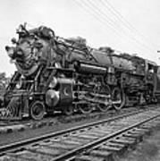 Steam Locomotive Crescent Limited C. 1927 Print by Daniel Hagerman