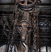 Steampunk - Industrial Strength Print by Mike Savad