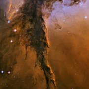 Stellar Spire In The Eagle Nebula Print by Adam Romanowicz