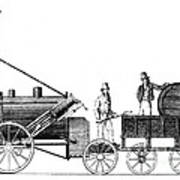 Stephensons Rocket 1829 Print by Science Source