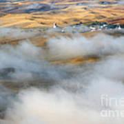 Steptoe Fog Clearing Print by Mike  Dawson