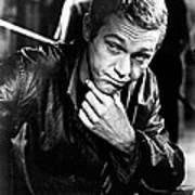 Steve Mcqueen Hand On Chin Print by Retro Images Archive