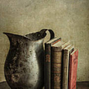 Still Life With Pitcher Print by Terry Rowe