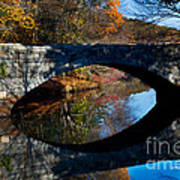 Stone Bridge Print by Jim  Calarese