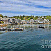 Stonington In Maine Print by Olivier Le Queinec