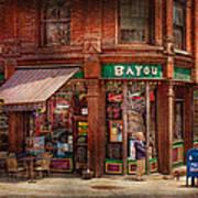 Store - Albany Ny -  The Bayou Print by Mike Savad