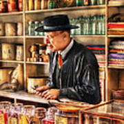 Store - In The General Store Print by Mike Savad