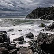 Storm At Gulliver's Hole Print by Marty Saccone