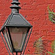 Street Lamp Print by Jeanne  Woods