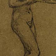 Study For Shuttlecock Print by Albert Joseph Moore