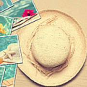 Summertime Postcards Print by Amanda And Christopher Elwell