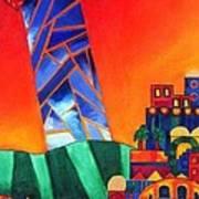 Sun City Print by Dawnstarstudios