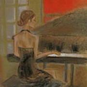 Sunday Recital Print by C Pichura