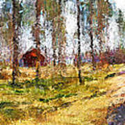 Sunny Day In April Print by Yury Malkov