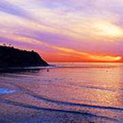 Sunset At Pv Cove Print by Ron Regalado