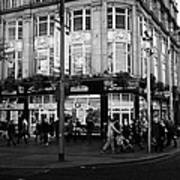 Supermacs Fast Food Restaurant Oconnell Street Dublin Republic Of Ireland Print by Joe Fox
